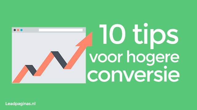10 tips hogere conversie