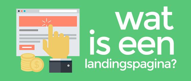 Wat is een landingspagina?